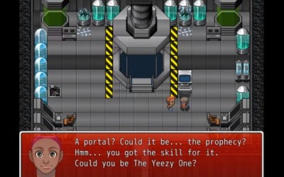 Kanye Quest 3030 – Kanye West fanmade game