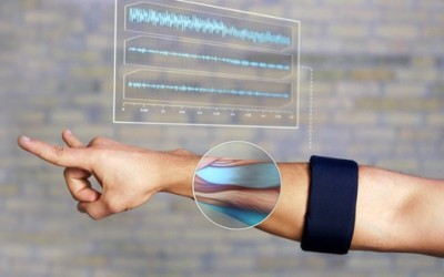 Myo Armband Electric Impulse and Muscle Controller