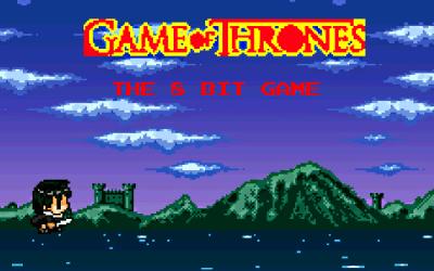 Game of Thrones 8-bit Fan-Made Platformer