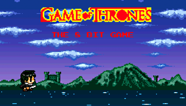 Game of Thrones Fan-Made Retro Platformer Released