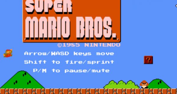 Play Super Mario Bros Online thanks to HTML5 Browser Port With Level Designer