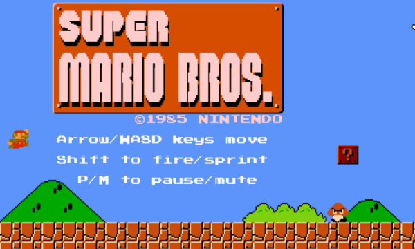 Super Mario Bros Gets a HTML5 Browser Port With Level Designer