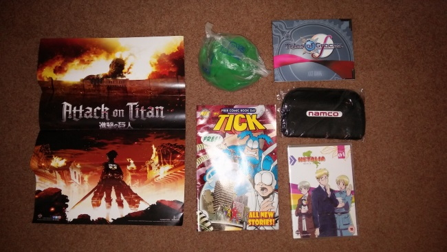 Comic Con Goodie Bag