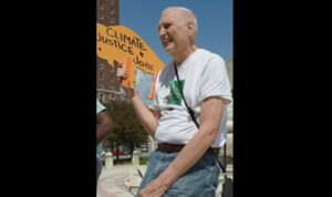 Trump Lies about 75 year Old Protester