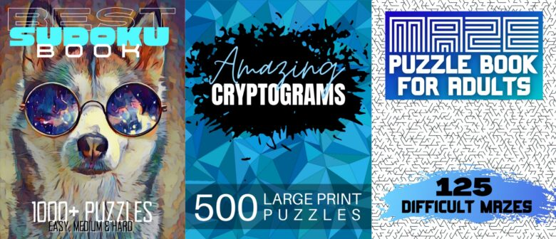 Best Puzzle Books for Adults