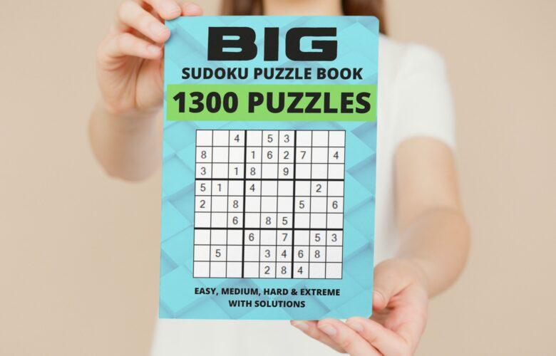 big sudoku puzzle book